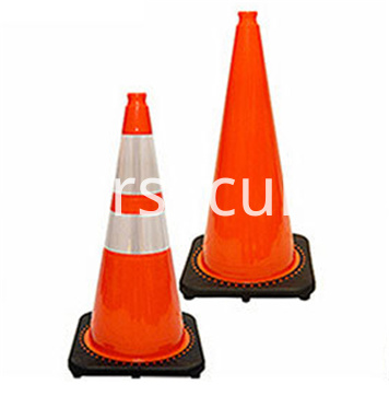 28inch Highway Orange collapsible safety cones Foldable Traffic Cone