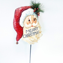 Christmas Cheerful Character Garden Stake