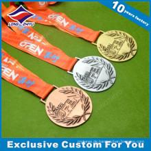 2016 Korea Daegu 3D 90mm Durchmesser Metall Award Jiu-Jitsu Medaille