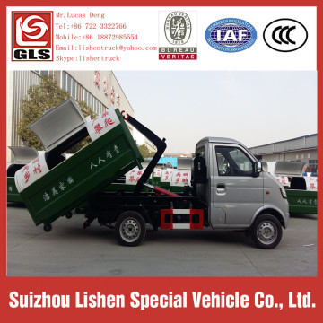 Garbage 4 * 2 Swing Arm Trucks 3 CBM Garbage