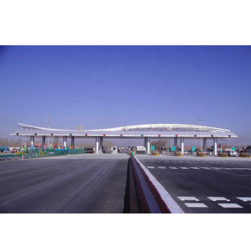 New Design Steel Structure Space Frame Highway Toll Station Roof