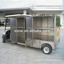 48V 1-2 seats electric fuel golf cart type buffet cart on sale