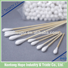 medical absorbent wooden alcohol cotton swab