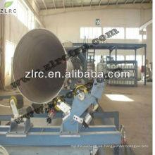 Línea de producción de bobinado de FRP Línea de producción de tubería de GRP con sistema de bobinado