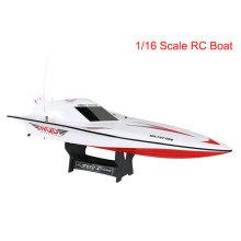Barco teledirigido popular de 1: 16 RC para los niños