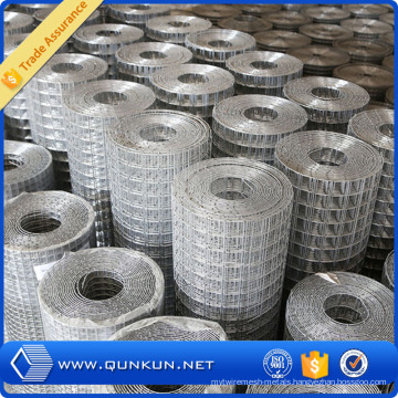 1*1′′*1*25m Hot Dipped Galvanized Welded Wire Mesh
