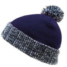 Winter Custom Beanie Hat with Top Ball