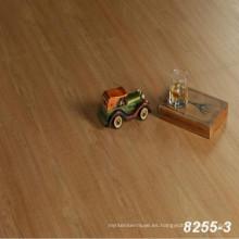 suelo comercial de madera del grano haga clic en el piso del vinilo del PVC Suelo del vinilo PVC del PVC que florece el piso barato del vinilo