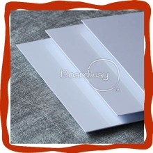 Strong waterproof white hard plastic sheet for building material
