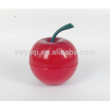 Popular Moisturizing Round Apple Lip Balm with Different Flavor