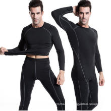 Men Fitness Running T-Shirt High Elastic Tight Activewear Sports Clothing