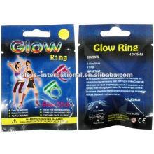 Finger Ring Glow sticks, brilho noturno
