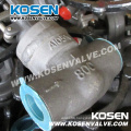 Welding Bonnet Forged Steel Globe Valves