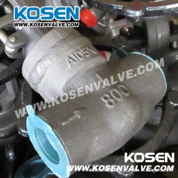 Welding Bonnet Forged Steel Globe Valves