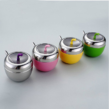 ChaoZhou stainless steel Apple spice jar