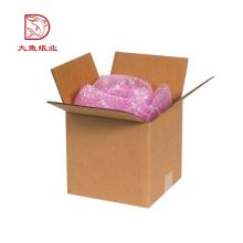 Différents types bon marché usine ondulé fort vide boîte d'emballage de vase