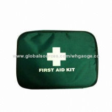 Wholesale First-aid Emergency Bag/Case, 2 Disinfectant Wipes, CE, FDA, BSCI Marks