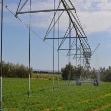 Impact rain gun sprinkler center pivot irrigation system