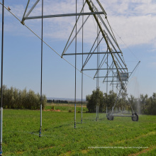 Sistema de riego automatizado de carrete de manguera para agricultores