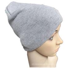 OEM produzieren preiswerten kundengebundenen Farben-Acryl strickte Sport-Beanie-Kappe
