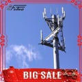 Monopole Trasmission Tower with Antenna and Microwave Dish