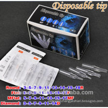 2016 hot sale cheap transparent disposable tattoo tube