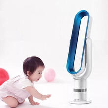 Factory Price Hot Sale Oval Shape Plastic Electric Stand Fans with Remote Controller