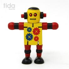 robot de madera inteligente juguete robot juguete transforma