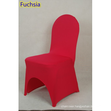 banquet chair covers,lycra chair cover fit all banquet chairs,high quality,fuchsia