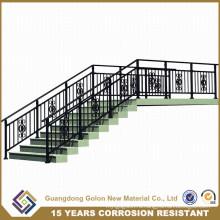 Индивидуальная лестница из кованого железа