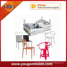 Nuevos productos Popular en Europa nuevo diseño plástico escuela silla molde en taizhou China