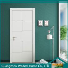 Porte en bois colorée affleurante de solides de MDF de noyau de haute qualité