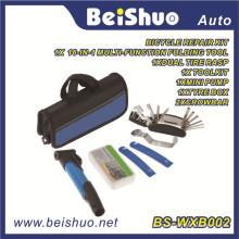 Radfahren Fahrrad Reparatur Werkzeugtasche Reifen Werkzeug Mini Pump Patch Kit