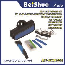 Cycling Bike Repair Tool Bag Tyre Tool Mini Pump Patch Kit