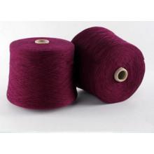 28nm / 2 machine à tricoter 100% pur fil de cachemire