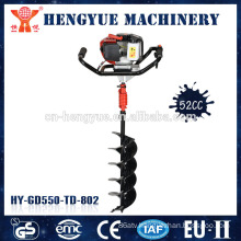manual hole digger portable land digging machines garden hand tool telescopic