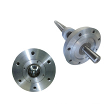 PVC extruder screw barrel with water cooling jacket