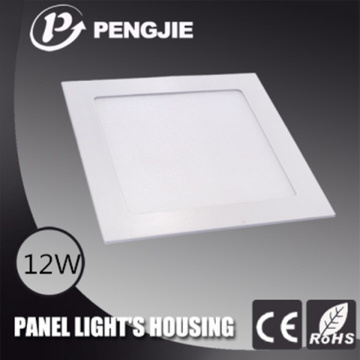 Hot Selling 12W LED Panel Light Housing for Hotel (Round)