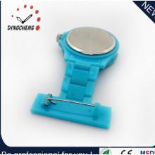 Promotional Custom Fashion Silicone Nurse Plastic Wrist Watch (DC-1156)