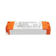 boqi triac dimmable led driver 24w 400ma isolated thin led driver with CE SAA