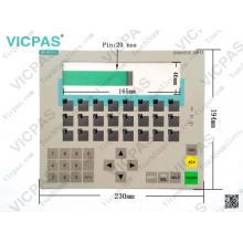 6AV3617-1JC00-0AX1 OP17 / PP clavier à membrane / clavier à membrane 6AV3617-1JC00-0AX1
