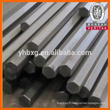Barres hexagonaux en acier inoxydable de haute qualité 316 avec bon prix