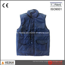 Padded Puffer Sleeveless Quilted Men′s Winter Vest