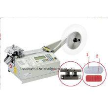 Máquina de corte de cinta de gancho y lazo