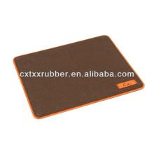 Tapetes com borda de bloqueio, mouse pad overlock, proteja tapetes de borda