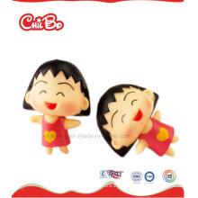 Mini Material Seguro Juguetes de vinilo Chi-Bi Maruko