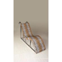 Chaise de chaise de sauna en acier inoxydable chaise de massage