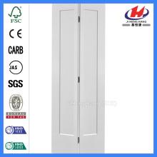 JHK-001 Interior Doors Wholesale Shaker 1 Panel MDF Bi-fold Door