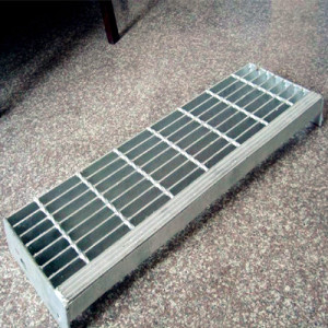 Galvanized Steel Grid Stair Treads