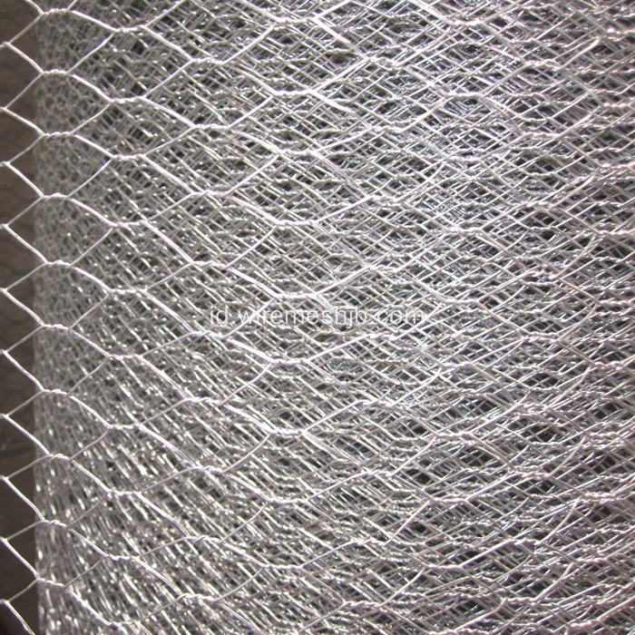 1 '' Galvanized Hexagonal Chicken Wire Mesh